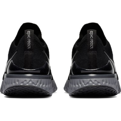 nike epic react flyknit 2 black