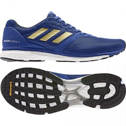 Adidas Adizero Adios 4 blue outsole